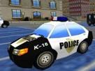 Polis Arabası Park Etme 3d